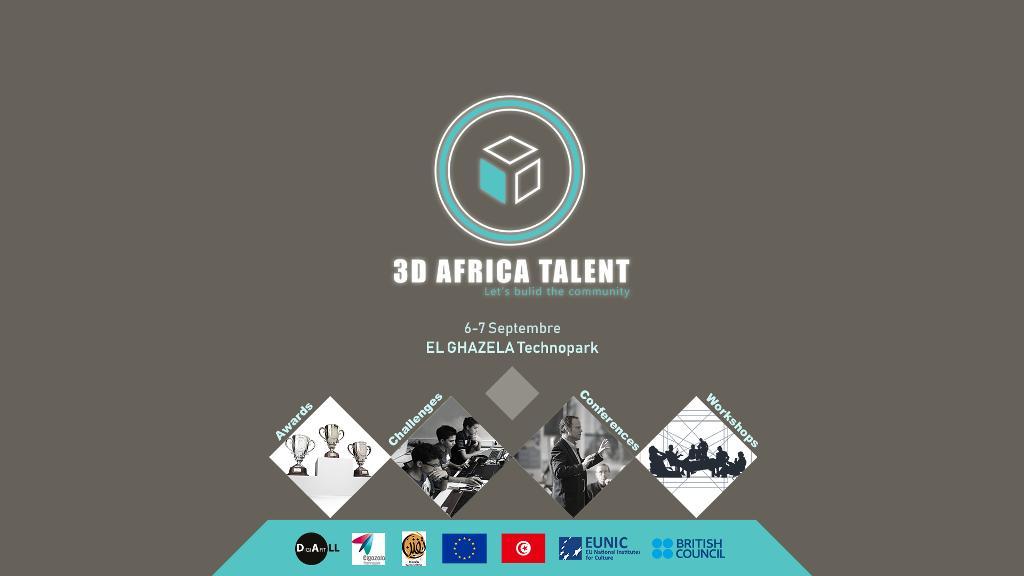 3D African Talent