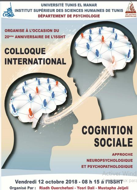 Colloque International: Cognition Sociale – Approche neuropsychologique et psychopathologique