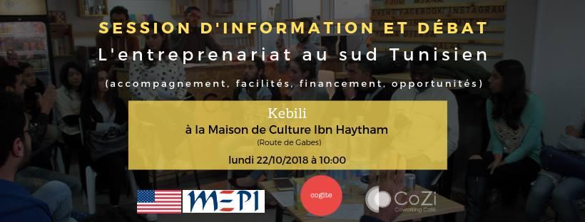 L'entreprenariat à Kebili- Informations et débat