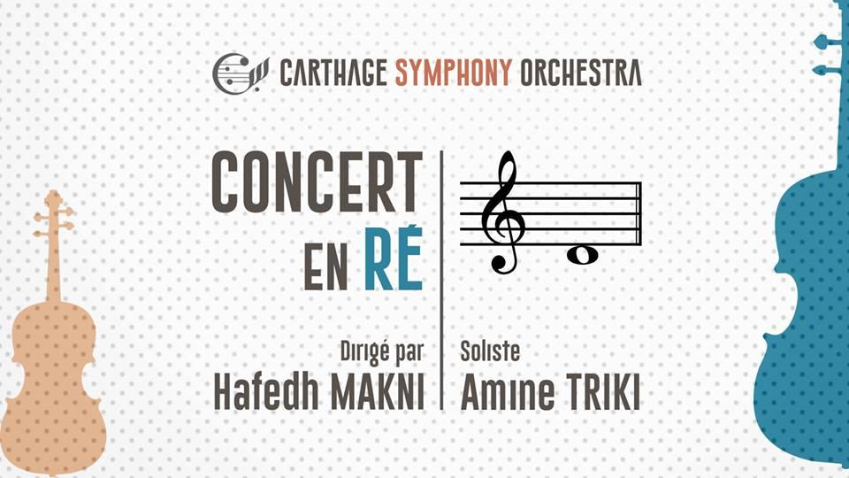 Concert en Ré par le Carthage Symphony Orchestra