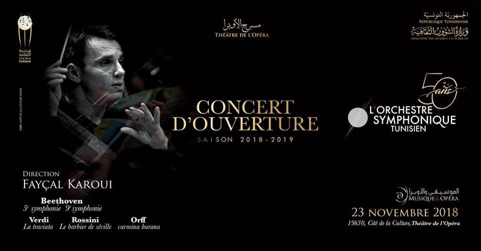 Orchestre symphonique Tunisien: Concert d'Ouverture