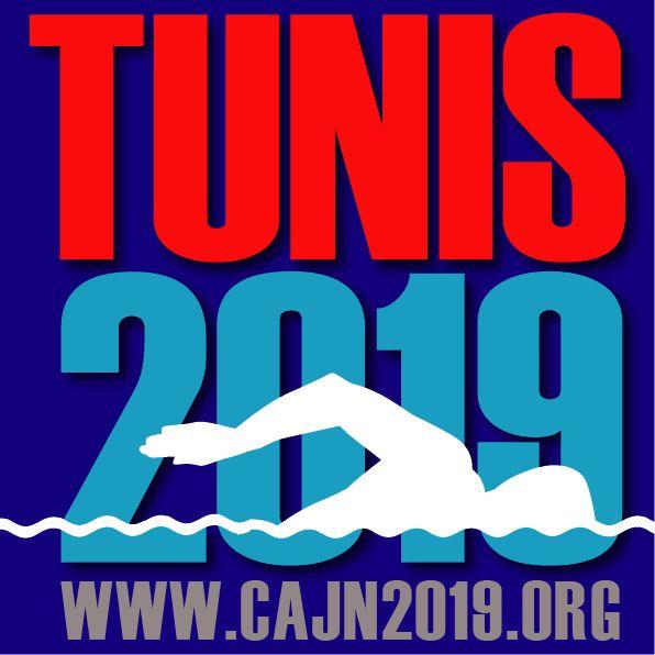 13ème  Championnat d'Afrique Junior de Natation – CAJN Tunis 2019