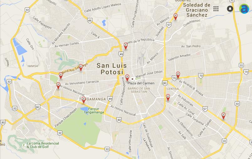 Módulos electrónicos para tramites gubernamentales en San Luis Potosí