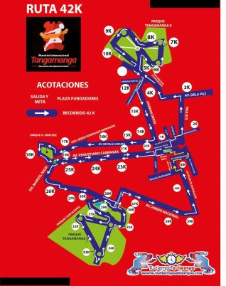 ruta maraton tangamanga 2016 (2)