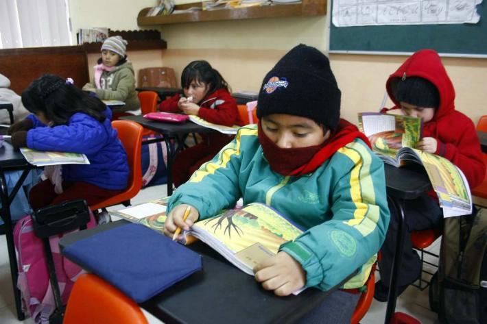 horario de invierno en escuelas