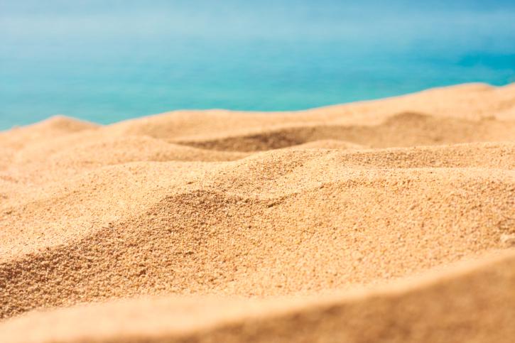 escasez de arena