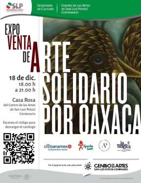 18 DICIEMBRE 18 A 21 HRS CASA ROSA DEL CENTRO DE LAS ARTES