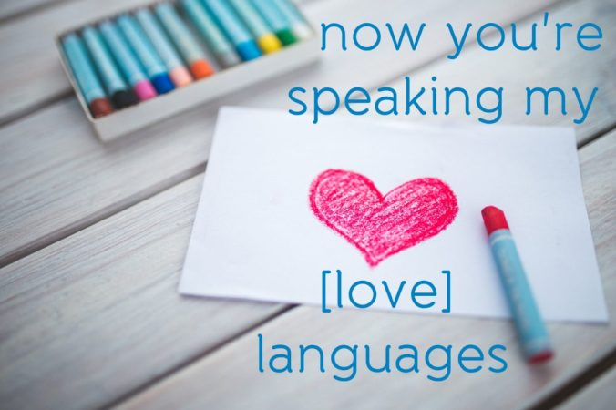 love languages text