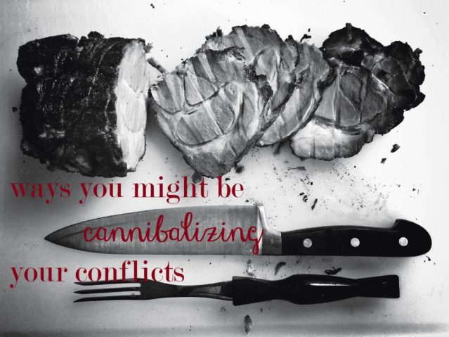 cannibalizing conflicts