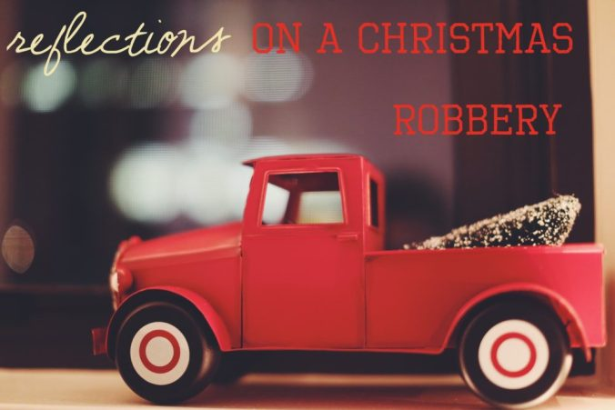 Christmas robbery