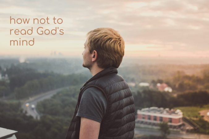 How not to read God's mind