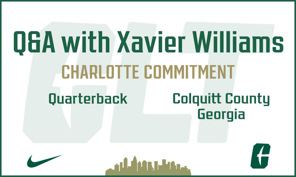 Q&A with Charlotte Football commit Xavier Williams