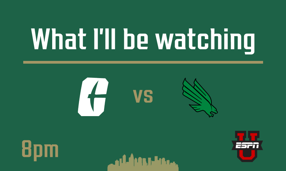 What I'll be watching   Charlotte at North Texas   October 10, 2020