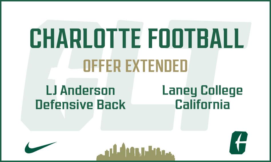Charlotte Football offers LJ Janderson