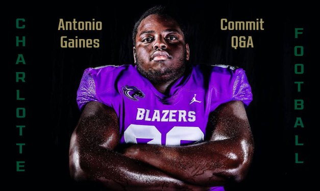 Q&A with Charlotte 49ers commit Antonio Gaines