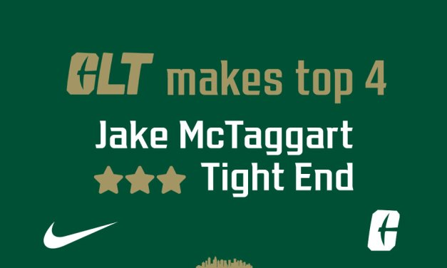 Charlotte makes ⭐⭐⭐ Tight End's Top 4