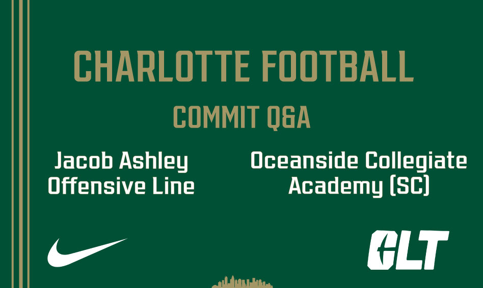 Q&A with Charlotte Football commit Jacob Ashley