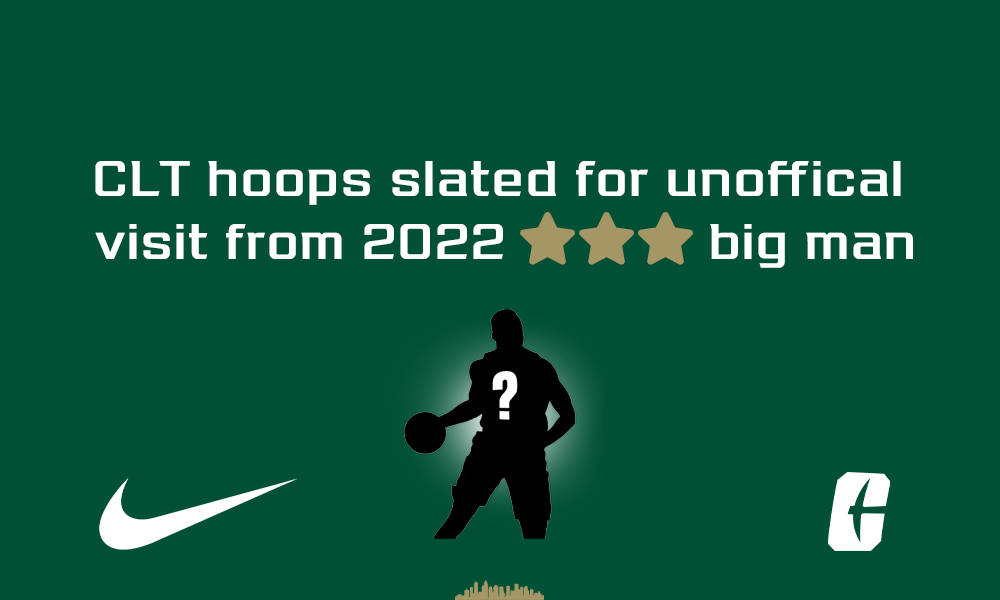 CLT hoops to host a highly recruited 3-star big man for an unofficial
