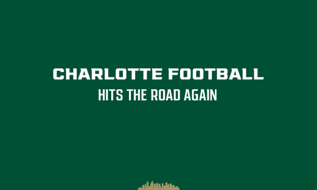 Charlotte hits the road for the second time this season