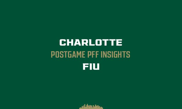 Charlotte vs FIU: Postgame PFF Insights