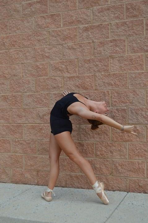 Lululemon Black Dance To Yoga Leotard