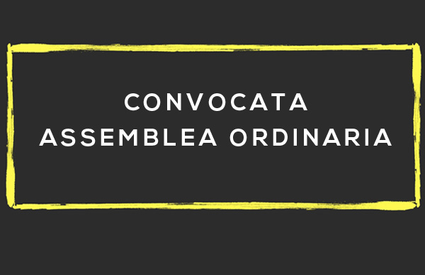 CONVOCAZIONE ASSEMBLEA 26.07