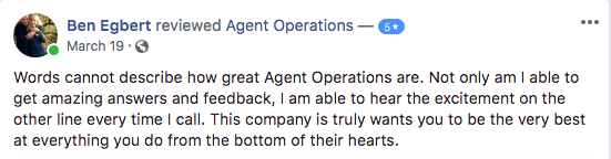agent operations reviews