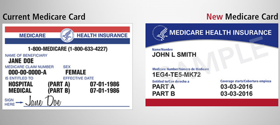 New Medicare Cards Coming to Medicare Supplement Clients
