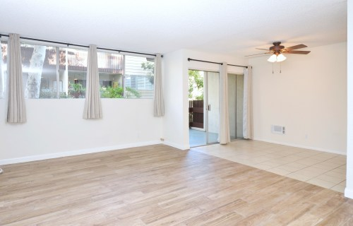 Interior-Facing Corner Unit with Large Patio