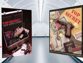 Covers of Top Secret NWO and Top Secret