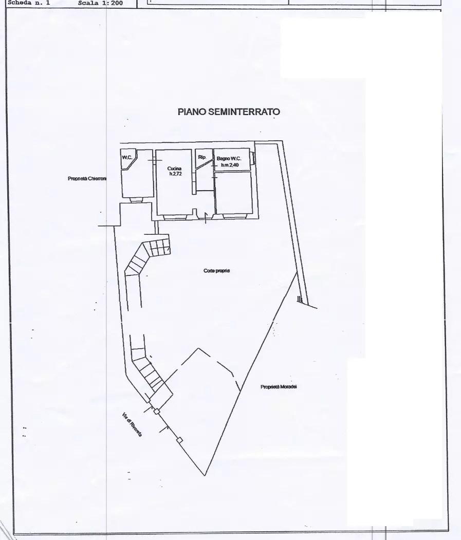 Appartamento Cutigliano Pianosinatico Tre Vani Mq 80 Giardino Mq 320 (897×1280)
