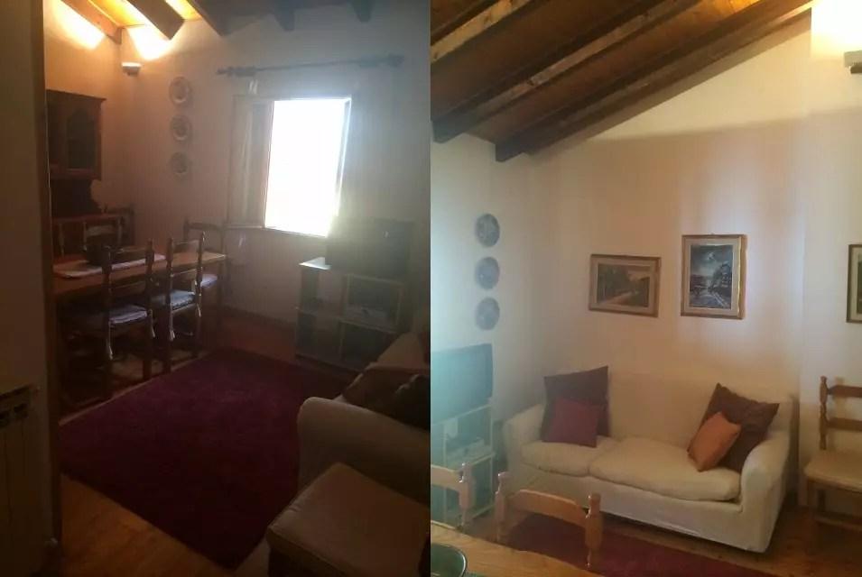 Mansarda Affitto Abetone Centro Appartamento Quattro Vani Mq 75