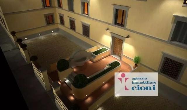 Trilocale Firenze San Frediano Mq 90 Piano terra Rialzato arredato