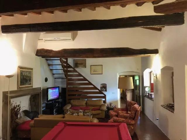 Villa Leopoldina Mq 400 Firenze Pontassieve 15 vani terreno 2,5 Ettari Appartamento Piano Primo (45)