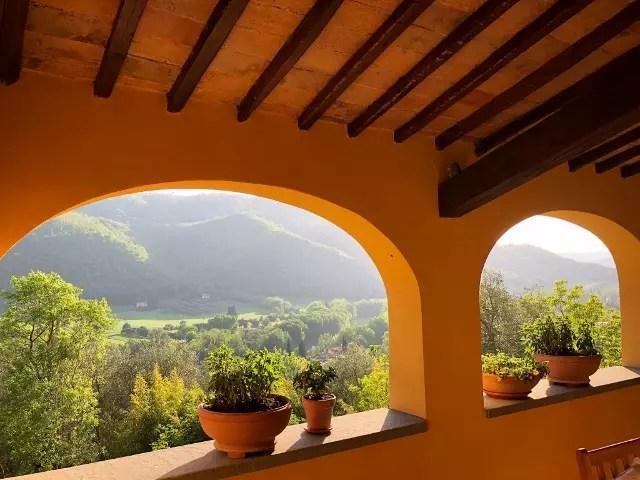 Villa Leopoldina Mq 400 Firenze Pontassieve 15 vani terreno 2,5 Ettari Appartamento Piano Primo (85)