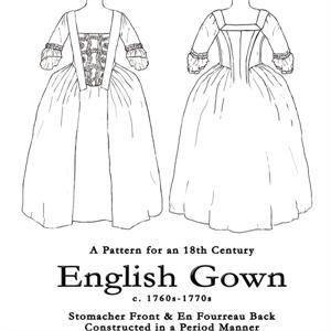 Larkin and Smith English Gown Pattern