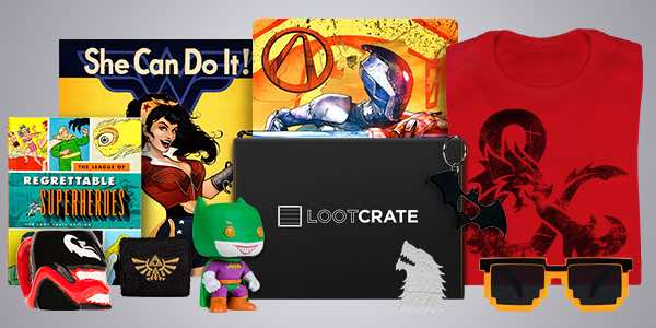 Loot crate promo 2