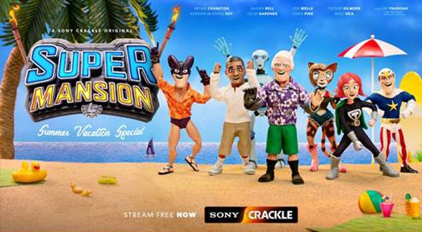 SUPERMANSION: SUMMER VACATION SPECIAL' AVAILABLE TO STREAM FREE NOW