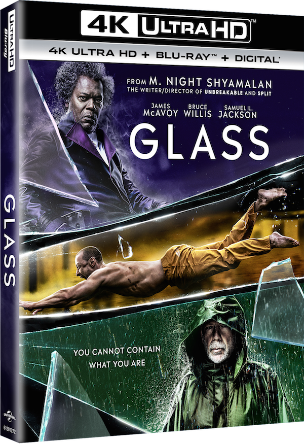 Glass' Shatters Onto 4K Blu-Ray In April - Age of The Nerd