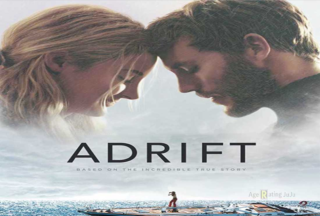 Movie Poster 2019: Adrift Movie 2018 Restriction Certificate