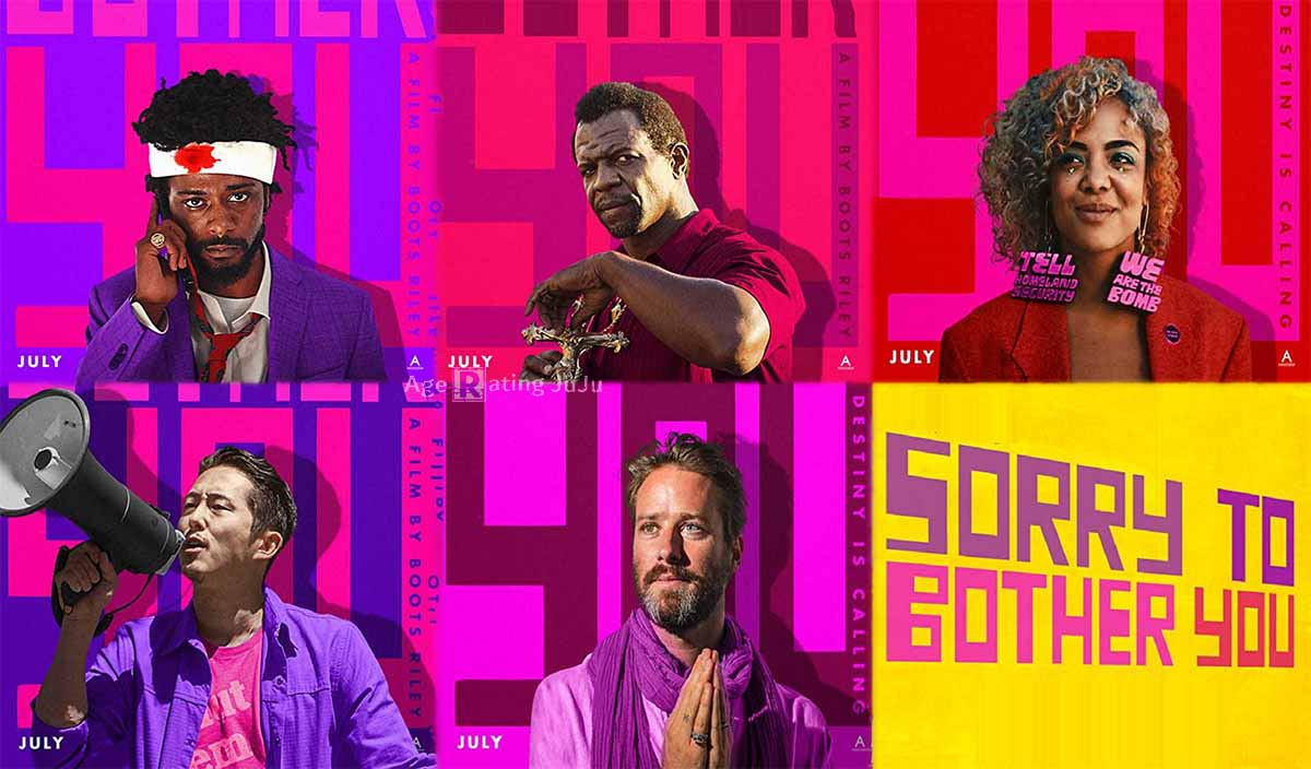Movie Poster 2019: Sorry To Bother You Age Rating