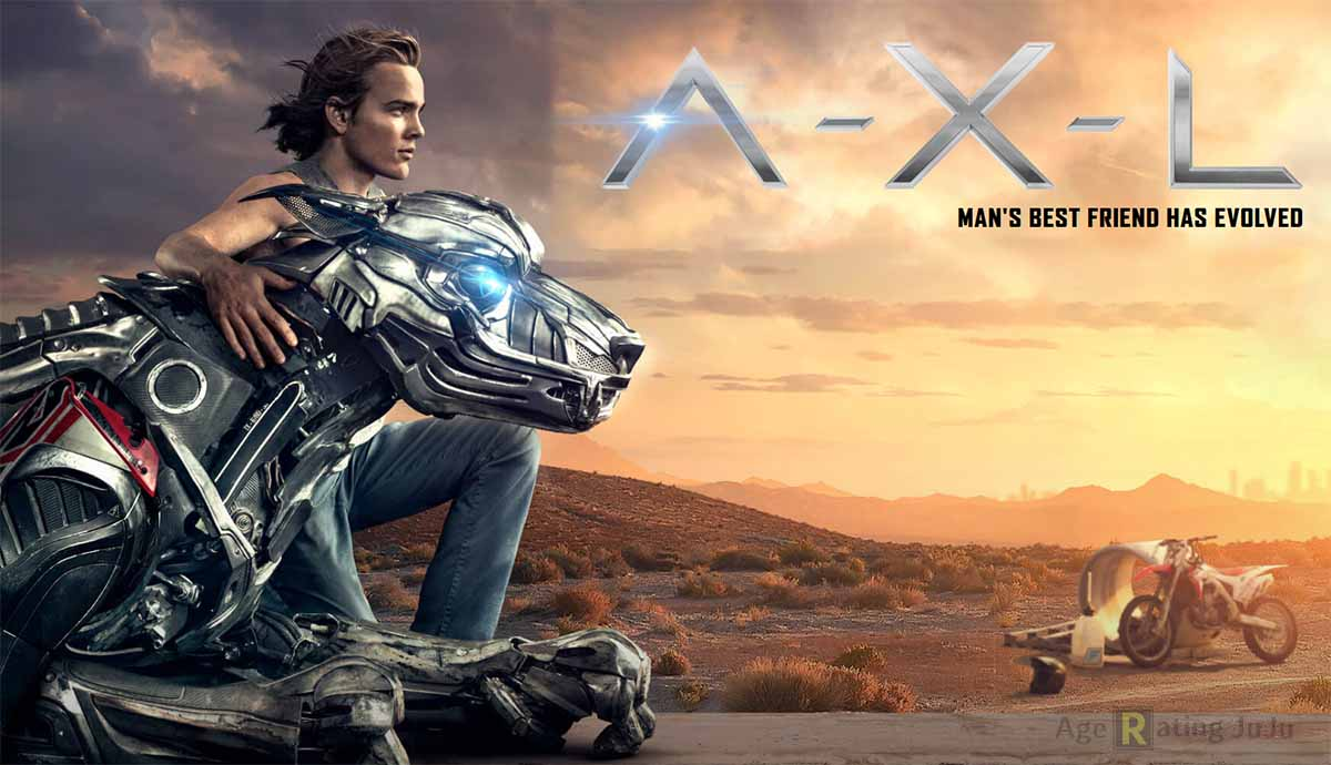 Movie Poster 2019: AXL 2018 Restriction Certificate