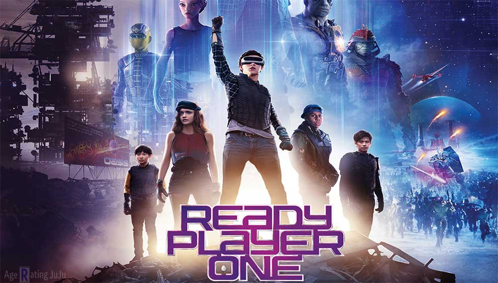 Movie Poster 2019: Ready Player One Age Rating