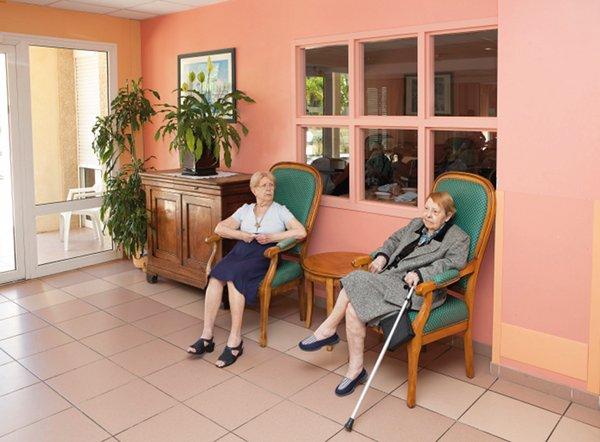 Pr sentation maison de retraite la renaissance agespa - Salle de bain maison de retraite ...