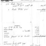 1901 wool receipt