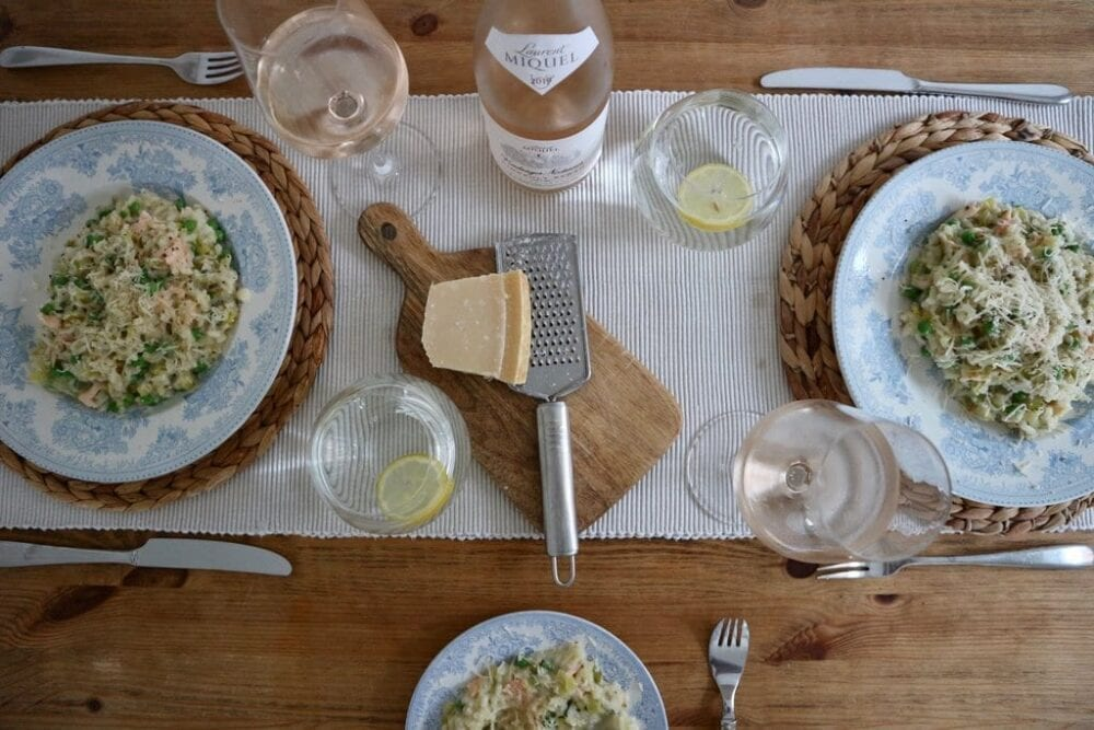 dining at home