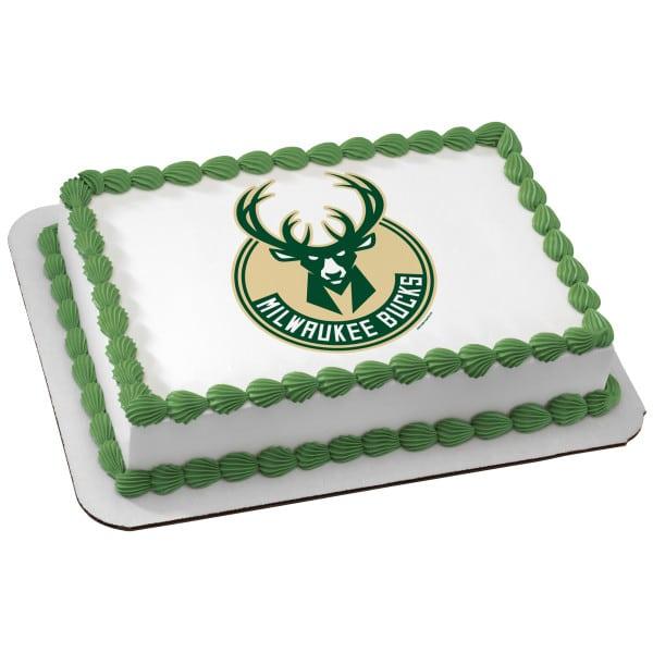 Birthday Cake 105 Milwaukee Bucks 6449 Aggie S Bakery Cake Shop