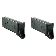 Ruger 90642  Ruger Magazines LC9/LC9S/EC9S 9mm 7 rd Black Finish 2 pack