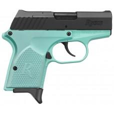 "Remington Firearms 96453 RM380 Micro Double 380 Automatic Colt Pistol (ACP) 2.9"" 6+1 Light Blue Polymer Grip Black Stainless Steel"