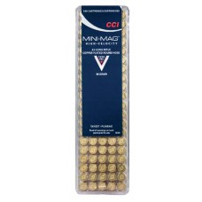 CCI 0030 Select Mini-Mag 22LR Copper-Plated Round Nose 40GR 100Box/50Case